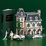 Department 56 #56.58939: Literary Classics: The Great Gatsby: West Egg Mansion