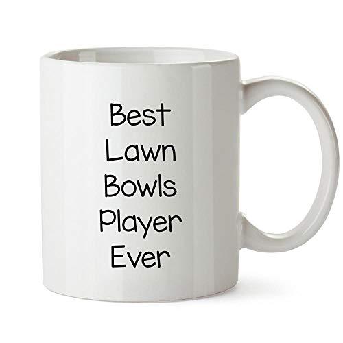 Idakoos Best Lawn Bowls Player ever Mug 11 ounces