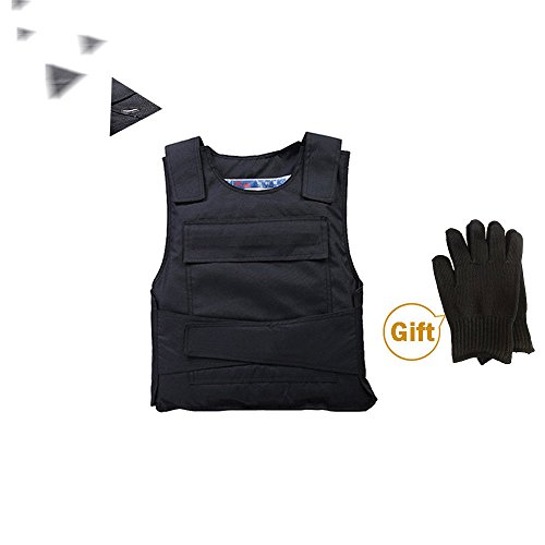 OUkANING Stab Proof Anti-stab Body Tactical Armour Vest Security Jacket...