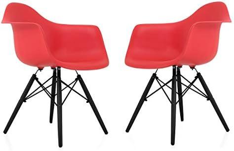 Awe Inspiring Amazon Com Cozyblock Set Of 2 Eames Style Daw Scandinavian Cjindustries Chair Design For Home Cjindustriesco