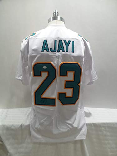 28c4d55f37f Miami Dolphins Autographed Jerseys. Jay Ajayi Signed Miami Dolphins White  Autographed Novelty Custom Jersey