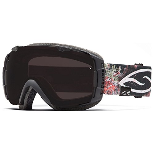 Smith Lago Signature I/O Goggles with Bonus Lens Lago Thorns/Blackout/Extra Red Sensor, One Size by Smith Optics