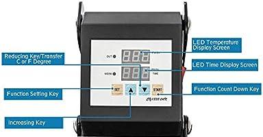 Display4top 5 en 1 Prensa de Calor Maquina de Prensa de Calor ...