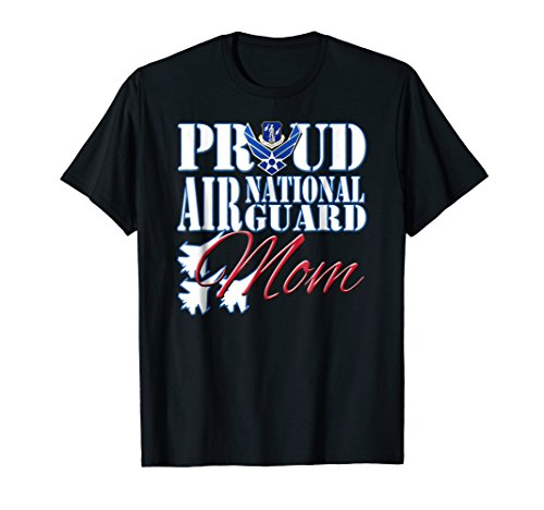 Proud Air National Guard Mom Shirt Air Force Mothers Day