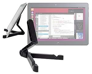 """DURAGADGET Soporte Plegable Con Función Atril Para la tablet BQ Aquaris M10 Ubuntu Edition 10.1""""   HD   Full HD"""