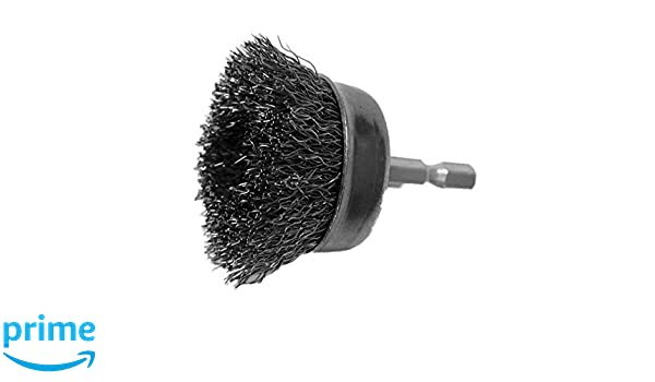 10 Pack Coarse Wire Hot Max 26414-10 1-1//2 Mounted Cup Brush
