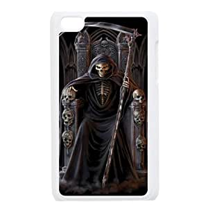 QSWHXN Phone Case Grim Reaper,Customized Case For Ipod Touch 4
