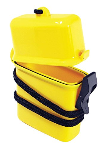 SE - Storage Container - Waterproof, 4.25x2.75x1in. - WP672, Colors May Vary