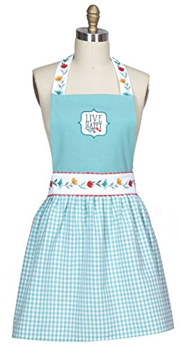Kay Dee Designs R3941 Blooming Thoughts Embroidered Hostess Apron