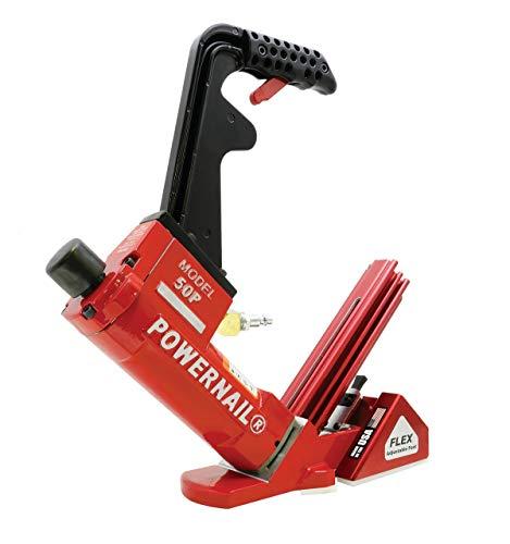 - Powernail 50P Flex 18 Gauge Pneumatic Hardwood Flooring Nailer