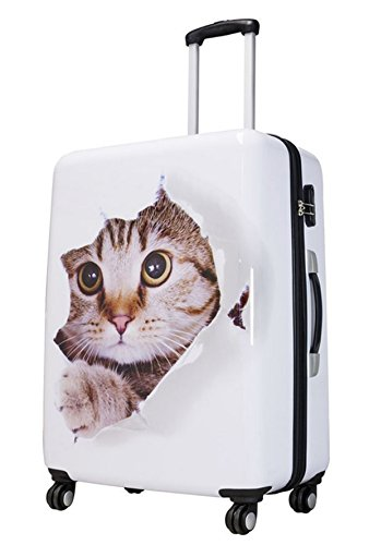 Maletín en Designer Print Mieze de gato 4radtrolley Maleta de viaje 165527policarbonato ABS FA. bowatex