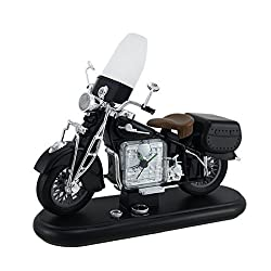 VINTAGE MOTORCYCLE Harley AM/FM RADIO ALARM CLOCK