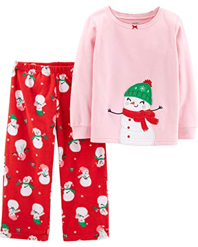 (Carter's Toddler Girls Holiday Snowman Pajamas 2 pc)