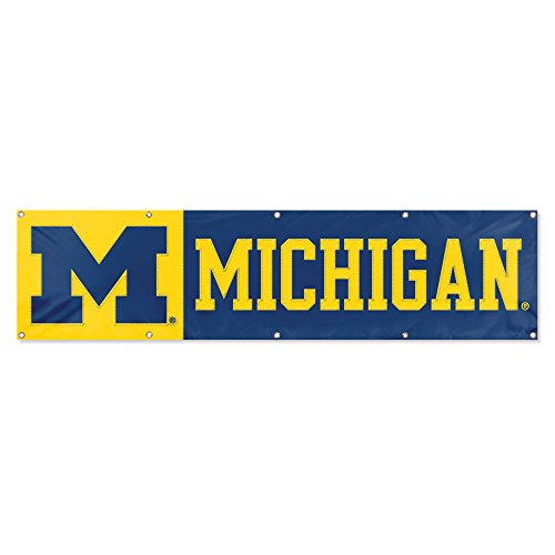 Party Animal Michigan Wolverines 8'x2' NCAA College Banner