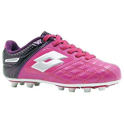 Price comparison product image Lotto Girl's Forza II FG Soccer Cleats,  Pink,  4 Big Kid M