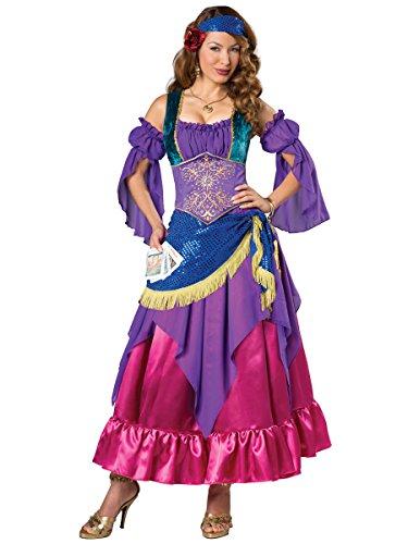 Fun World Women's Gypsy Treasure Costume, Multi, S