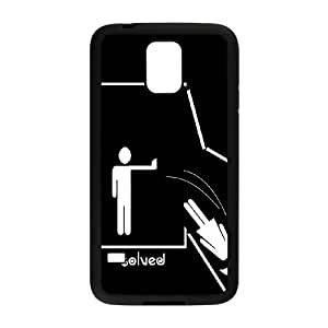 problem solved Samsung Galaxy S5 Cell Phone Case Blackpxf005-3773602