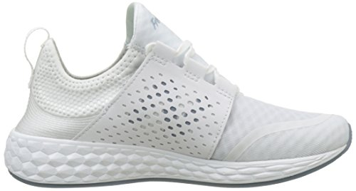 shopping online original cheap fashionable New Balance Women's Fresh Foam CRUZ V1 Mesh Running Shoe White/White visa payment sale online clearance 100% authentic buy cheap official d6fVK1xV3F