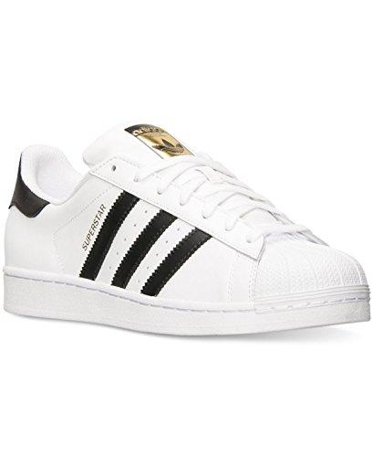 Adidas Originaler Menns Super Uformell Sneaker, Hvit / Core Svart / Hvitt, 9,5 M Oss