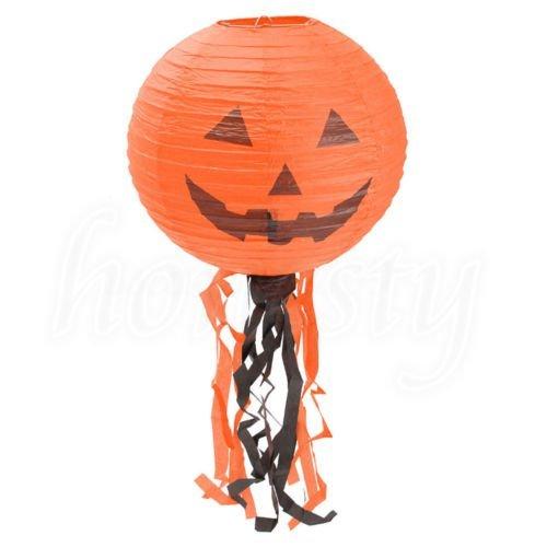 Diy Cop Costume For Kids (UNAKIM --Halloween Festival DIY Vintage Pumpkin Paper Lantern Lamp Party Decoration 3Size)