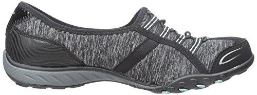 Skechers Sport Donna Good Life Fashion Sneaker Black / Aqua