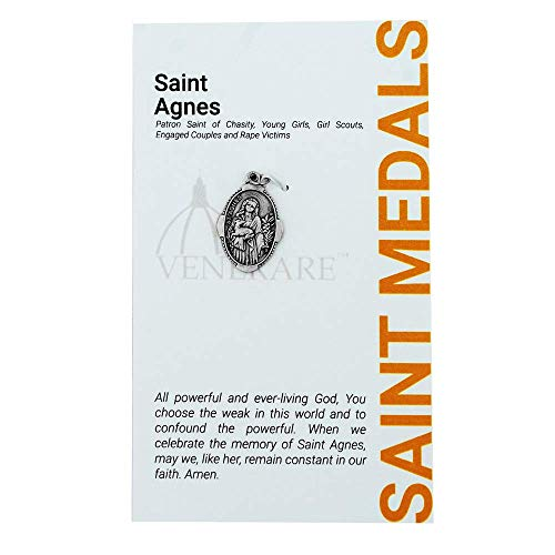 """1"""" Saint and Holy Subject Medal with Prayer Card   for sale  Delivered anywhere in USA"""