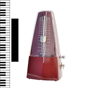 Estilo vintage Mecánico Metrónomo Temporizador Universal de Instrumentos Musicales para Guitarra Piano Violín Accesorios de Instrumentos Musicales: ...