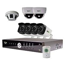 REVO America Aero HD Video Security Complete Surveillance System, Black (RA161CBNDL1)