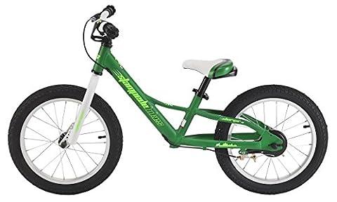 Stampede Bikes Charger Kids Balance Bike, 16 Inch, Green - Gravity 16 Inch Bike