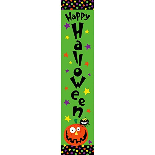 Custom Decor Yard Expression-Halloween Pumpkin - Yard Expression Sign - 6 inch x 30 inch PVC Sign Licensed, Trademarked, Copyright by CDI. Made in The USA! -