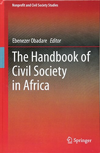 The Handbook of Civil Society in Africa (Nonprofit and Civil Society Studies) by Ebenezer Obadare