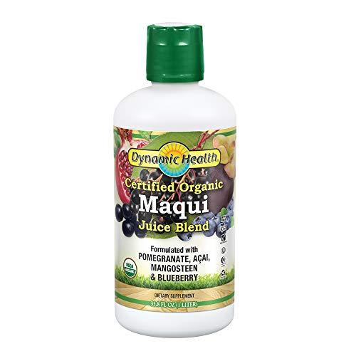 Dynamic Health Organic Certified Maqui Juice Blend, 33.80-Ounce (Berry Maqui Juice)