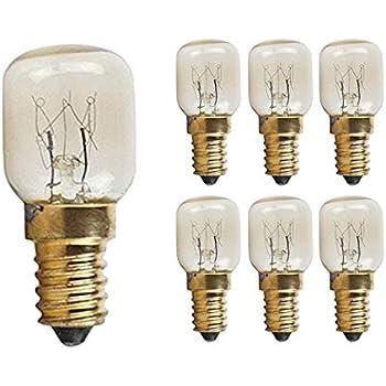 Wsdcn E14 T22 15w 120v 120 Volt 110v 130v Oven Light