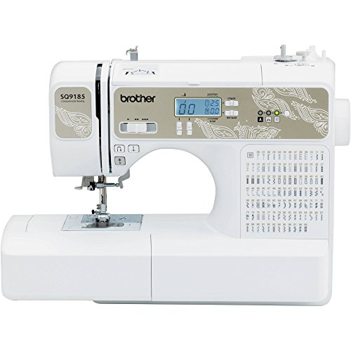 Model SQ9185 130-Stitch Sewing and Quilting Machine by Broth