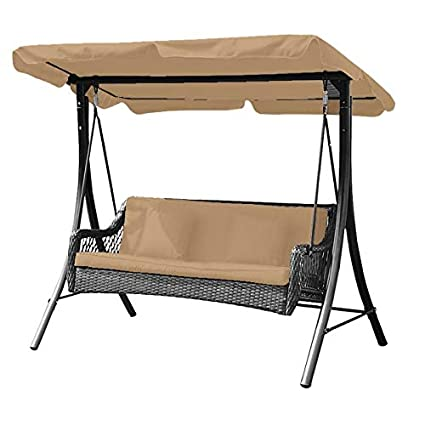 Riplock 350 Garden Winds Replacement Canopy Top Cover for the Garden Treasures 2-Person Sling Swing