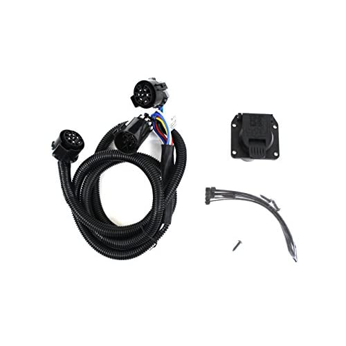 genuine dodge ram accessories 82212195ab trailer tow wiring harness for 5th  wheels and gooseneck trailer systems
