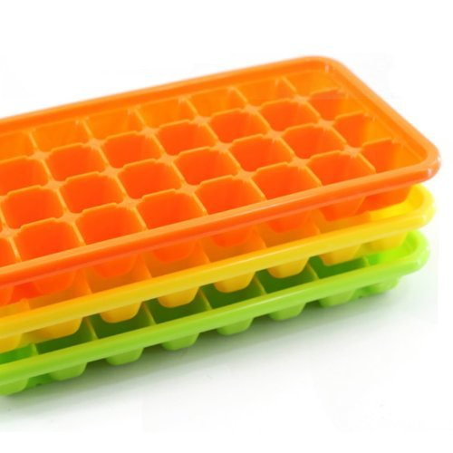 ((Pack of 2) Bio Tank, Ice Tray, Small Ice Cube, 32 Cube X 2 Trays, Easy Release, No Bpa, Most Durable Quality)