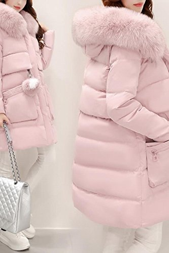 Generic 2018 Korean women Nagymaros collar down jacket and long sections Slim temperament thick coat for women girl
