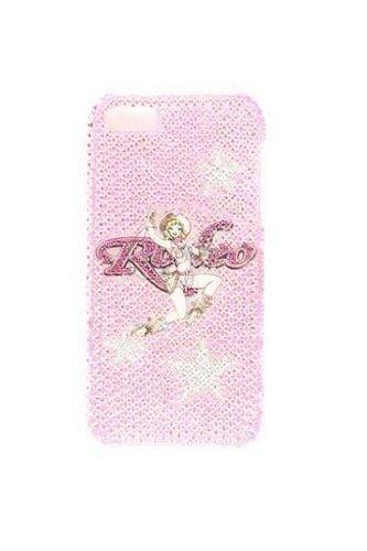 Rodeo Rhinestone - M & F Western Women's Blazin Roxx Rhinestone Embellished Rodeo Iphone 5 Case Pink One Size