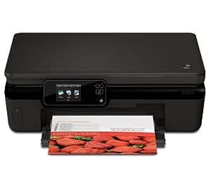 HP Photosmart 5522 e-All-in-One - Impresora multifunción de inyección de tinta en color inalámbrica multifonction + de red + Pack cartuchos de tinta 364 - Cián , magenta, amarillo, negro