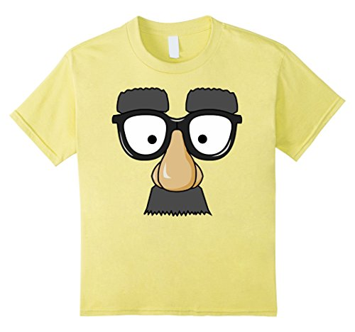 Kids Emoji Nerd Shirt Face Geek Funny Costume Glasses Gift 10 Lemon
