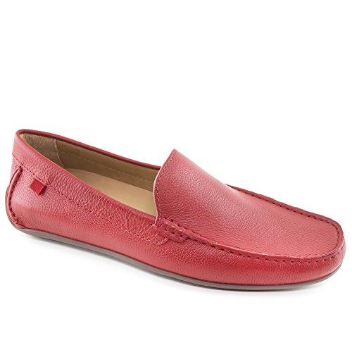 MARC JOSEPH NEW YORK Men's Red Grainy Broadway Venetian Loafer 11 (Best Sneaker Stores In New York)