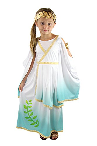 Spooktacular Creations Deluxe Greek Goddess Costume Set (s(5-7))