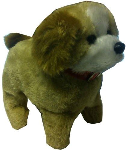 kids cute walking barking flipping puppy toy battery powered dog birthday amazoncouk toys u0026 games
