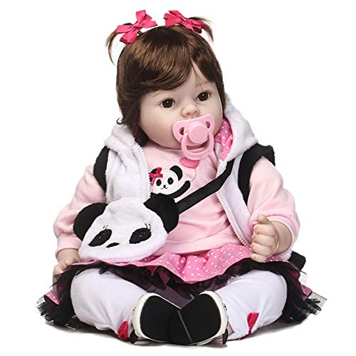 Used, dezirZJjx Reborn Doll, 50cm Silicone Baby Girls Reborn for sale  Delivered anywhere in USA