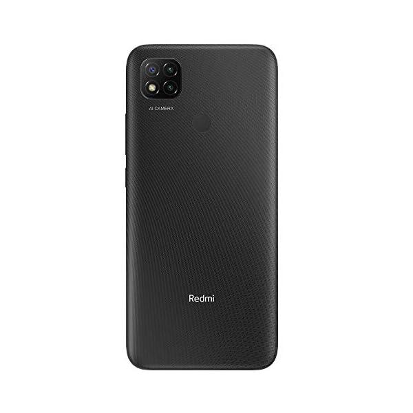 Xiaomi Redmi 9C Smartphone 3GB 64GB 6.53″ HD+ Dot Drop display 5000mAh (typ) Desbloqueo facial con IA 13 MP AI Triple Cámara [versión en español] gris