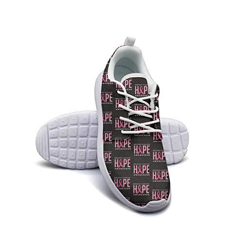 Hobart dfgrwe Breast Cancer Awareness Women Skateboard Casual Shoes New Tennis Shoes