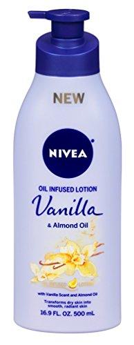NIVEA Oil Infused Vanilla and Almond Oil Body Lotion, 16.9 F