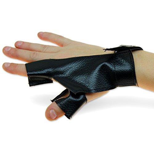 [LARP Archery Bowglove Hand Protector Right Side Index & Thumb Cordura] (Larp Archery Costumes)