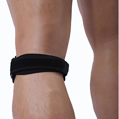 LEIMI Patella Tendon Strap, Fully Adjustable Knee